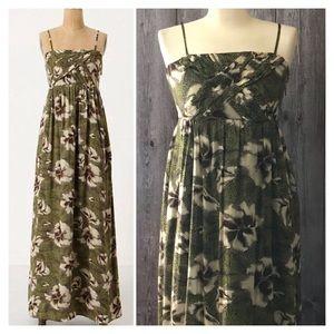 Anthropologie Edme & Esyllte Floral Maxi Dress